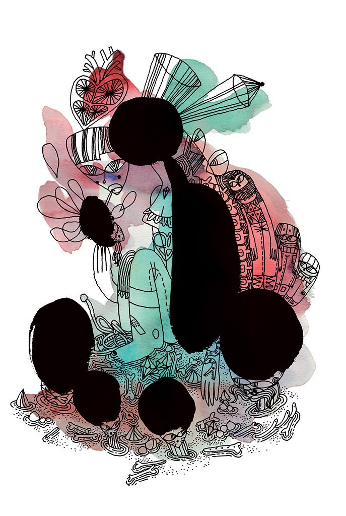 Les chat-pignons